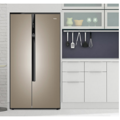 Haier/海尔对开双开门变频风冷家用无霜节能电冰箱